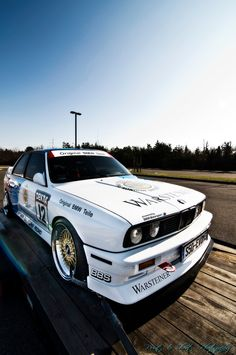 E30 BMW M3 DTM touring car