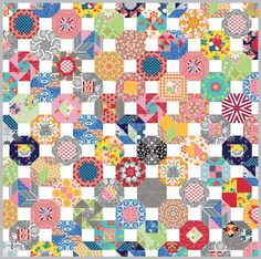 Sue Daley - All over the Octagon quilt