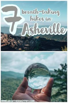 Are you looking for the best hikes in Asheville? Make sure to check out these 5 breath-taking hikes. You do NOT want to miss these jaw-dropping views while in this scenic mountain town! Visit Asheville, Asheville North Carolina, Asheville Hiking, Asheville Glamping, South Carolina, Zermatt, Weekend Trips, Day Trips, Places To Travel