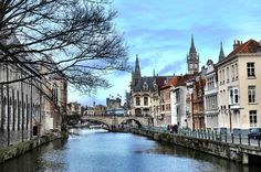 Walk Through Ghent, Belgium