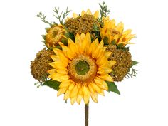 DEAL OF THE DAY Sunflower Yarrow Bush in Golden Yellow Only $9.99 http://www.afloral.com/Silk-Flowers-Artificial-Flowers-Fake-Flowers/Fall-Floral-Stems/Sunflower-Yarrow-Bush-in-Golden-Yellow
