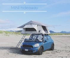 Wherever you go, go with all your heart [and] your MINI. #MINIpdx #MINIvacation