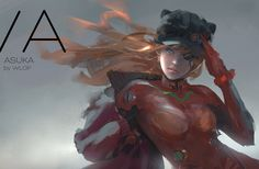|Facebook | Patreon | Tumblr | Twitter | Artstation | Tapastic| Asuka One of my favourite characters! Finally I did a fan art for her! Suppor...