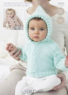 How to Knit an Easy Baby Sweater and More Free Patterns