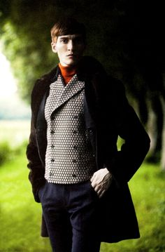 Matvey Lykov in 'Forever Young' photographed by David Armstrong for L'Officiel Hommes, November 2012.
