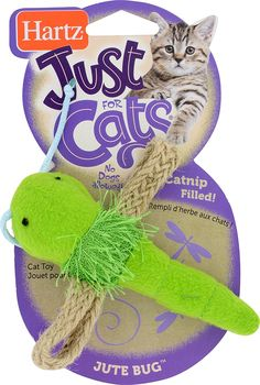 Hartz JFC Jute Bugs, 1-Pack * Quickly view this special cat product, click the image : Cat toys