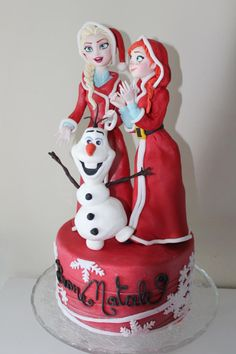 Frozen - Cake by Elena Michelizzi