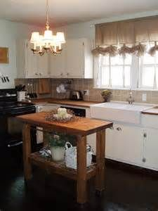 small kitchen with narrow island and corner sink - Yahoo Image Search Results