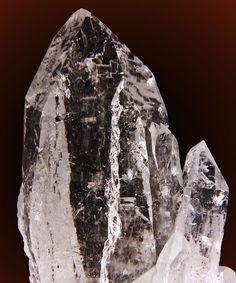 Lightning-struck Quartz Crystal / Brazil