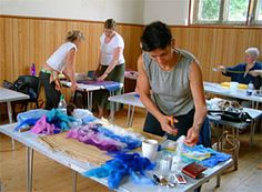 feltmaking workshops with Mary-Clare Buckle