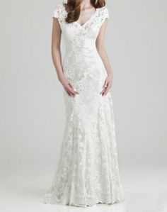 New white/ivory wedding dress bridal gown custom size 2 4 6 8 10 12 14 16 18+