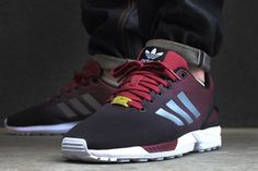 "A First Look at the adidas Originals ZX Flux NPS ""Core Burgundy ..."