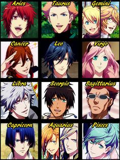 kuroko no basket zodiac - Google Search