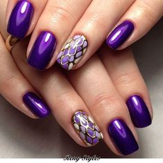 30+ Beautiful Nail Color Ideas for Wedding Ceremonies 2017 - Reny styles