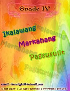 K TO 12 GRADE 4 IKALAWANG MARKAHANG PAGSUSULIT Summative Test, Decimal Number, Simile, Sentences, Science, Lettering, Writing, Words, Random
