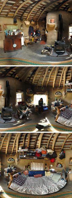 Dream house. Mud house.