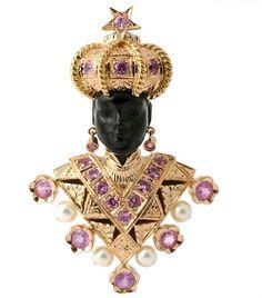 Cartier made Moor brooch