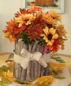 fall flower arrangements and thanksgiving table decorations