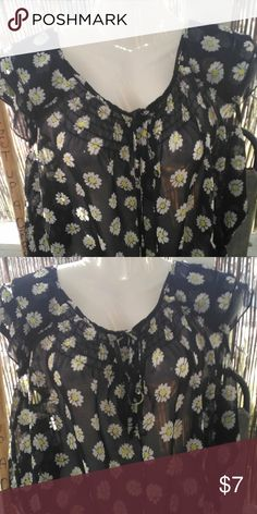 BoGo Large sheer flowered blouse Flowered sheer blouse , no tags but is a large , great for people who love to layer , nice with a tank top underneath. This blouse is one of the buy one get one free items just simply pick 2 items that are BOGO and send me offer for $7 and I will gladly accept it. Thank you for stopping by my closet have a great day    ☺️ 15% off 3 purchased items     ☺️ Happy Poshing unbranded Tops Blouses