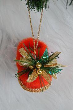 Christmas Tree DecorationsRed Boots Christmas Mini by Vishemir