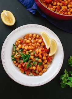 Vegan Chana Masala | 28 Vegetarian Recipes That Are Even Easier Than Getting Takeout
