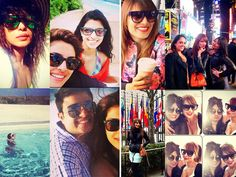 It's raining cats and dogs and guess what are our favourite actresses are busy doing? They are vacationing in beautiful sunshine-filled locales and are posting gorgeous Tripses (selfie during a trip). Oh how jealous are we! So let's make you envious too with a sneak peek into the travel diaries of Bollywood hotties through their selfies. Don't Miss! Mirror, Mirror On the Wall: Which Bollywood Celebrity Loves You Most of All? Image Courtesy: Instagram, Twitter