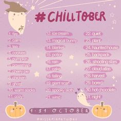 😱 I'm joining TEAM CHILLTOBER with 12 amazing Artists ☺️ you can all join the prompt list♥️ I'm already nervous… Drawing Prompt, Drawing Skills, Drawing Tips, Drawing Reference, Cool Art Drawings, Kawaii Drawings, Drawing Ideas List, 30 Day Drawing Challenge, Art Prompts