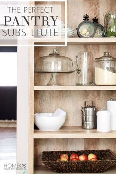 Amazing Pantry Substitute Clever Organizing Idea