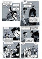Teen Titans comic, page 19 by JessKat-art