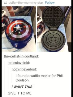 I MUST HAVE IT!!!!!! WAFFLES AND MARVEL, THE ULTIMATE BUNDLE. JUST NEED SOME PJO!