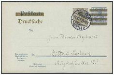 Germany, German Empire, Deutsches Reich 1906, 3 Pfg. auf 2 Pfg.-GA-Doppelkarte für Drucksachen, von Dresden nach Zittau, von dort nach Jonsdorf/Sachsen weitergeleitet, Drucksache eines Reisebüros (Mi.-Nr.PZD 4). Price Estimate (8/2016): 15 EUR. Unsold.