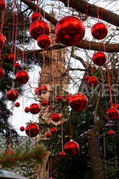 At the Christmas market Bolzano Italy