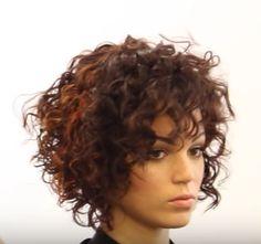82 fantastic hairstyle tutorials for naturally curly hair - Hairstyles Trends Bob Haircut Curly, Haircuts For Curly Hair, Curly Hair Cuts, Short Hair Cuts, Bob Hairstyles, Curly Hair Styles, Hair Affair, Great Hair, Medium Hair Styles