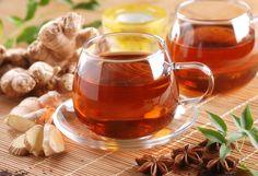 Imbir przepisy na zdrową herbatę
