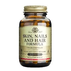 "Solgar Skin, Nails and Hair Formula 60 Tablets - œ"" Daily support for skin, hair and nails œ"" Vitamin and mineral complex œ"" Contains vitamin C, zinc and copper Solgars premium skin, hair and nails formula combines specific vitamins and minerals, su http://www.MightGet.com/january-2017-11/solgar-skin-nails-and-hair-formula-60-tablets-.asp"
