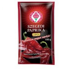 Paprikapulver aus Ungarn - scharf - mit Spitzenqualität Snack Recipes, Snacks, Salsa, Chips, Jar, Food, Goulash, Hungary, Red Peppers