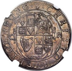 Great Britain, Great Britain: Charles I 1/2 Crown ND (1632-34) AU55 NGC,... Image #2