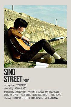 Sing Street Movie, Sing Street 2016, Cool Posters, Movie Posters, Lucy Boynton, Singing, Mens Sunglasses, Christian, Minimalist