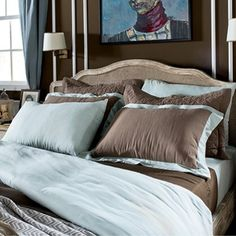 Unique harmony of #cotton and linen comes to life in Hampton #Linen #Bedding Set. This bedding set which may be preferred in #summer especially due to linen texture consists of linen, sheet and four pillowslips. #homedecor #stylish #country #cozy #chic