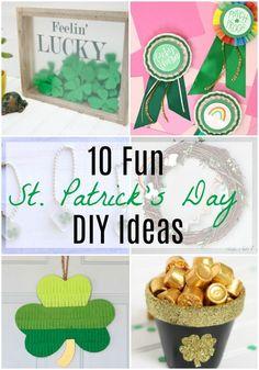 8f37bb5b704 10 Fun St. Patrick s Day DIY Ideas via  resincraftsblog St. Patrick s Day  Diy