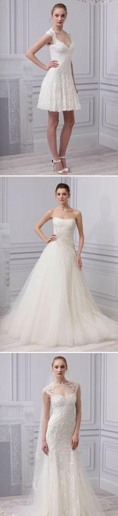 Monique Lhuiller 2013 NYC Bridal Week #WeddingGown #Wedding #Luxury #Designer
