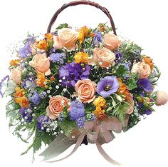 Bouquet of Love Rose Arrangements, Beautiful Flower Arrangements, Flowers Gif, Beautiful Flowers, Flower Basket, Flower Boxes, Birthday Greetings, Birthday Wishes, South Indian Wedding Hairstyles