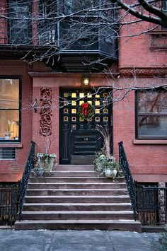 winter evening #10, 112 Willow Street (1880), Brooklyn Heights, New York