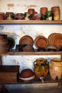 Tudor shelves