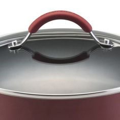 KitchenAid 3-quart aluminum saucepot with dual-riveted stainless handles for extra durability.