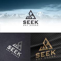 Design an iconic logo for outdoor lifestyle brand Seek Dry Goods Logo design contest winning Outdoor Logos, Outdoor Brands, Graphisches Design, Best Logo Design, Logo Inspiration, Hiking Logo, Camp Logo, Mountain Logos, Retail Logo