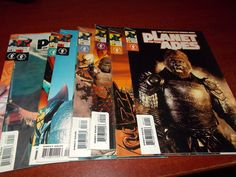 Planet of the Apes #1 2 3 4 5 6 Dark Horse Comic Book Set 1-6 Complete SYFY
