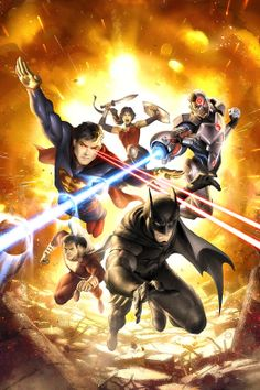Mundo Superman: 'Justice League: War' será la primera de muchas películas de animación que compartirán un universo