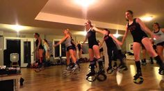 Kangoo Dance with Becky- GET UP                                                                                                                                                     More