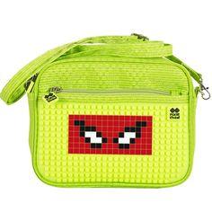 65dcfcfe1a PIXIE CREW Handbag GREEN NEON YELLOW - No pattern - Shoulder Bags